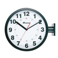 D.FACE WALL CLOCK BLACK with DULTON