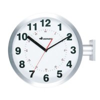 D.FACE WALL CLOCK SILVER with DULTON