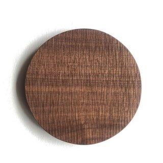 工房やす 木のお皿/ウォルナット