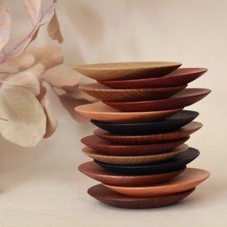 工房やす 木の豆皿
