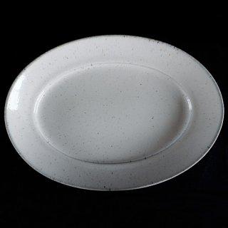 美濃焼 オーバルプラター 楕円皿 31�