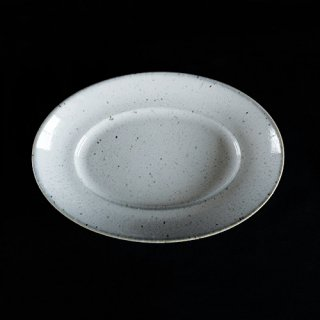 美濃焼 オーバルプラター 楕円皿 23�