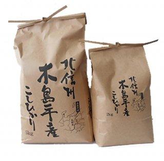 木島平産コシヒカリ 5kg×2