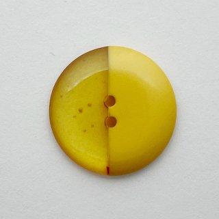 ヴィンテージプラスチックボタン(イエロー×クリアイエロー)