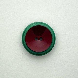 ヴィンテージプラスチックボタン(グリーン×ブラウン)