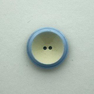 ヴィンテージプラスチックボタン(ブルーグレー×クリーム)