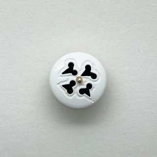 ヴィンテージカゼインボタン(ホワイト)