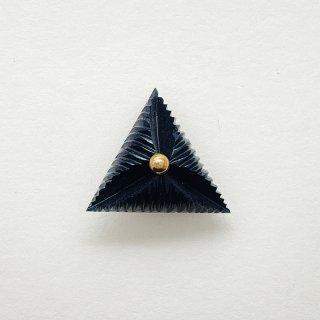 ヴィンテージカゼインボタン(ブラック)