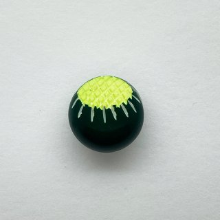 ヴィンテージカゼインボタン(グリーン×レモン)