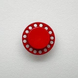 ヴィンテージカゼインボタン(バーミリオン)