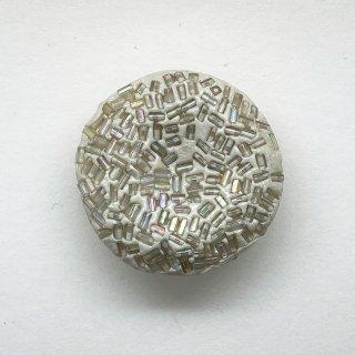 ヴィンテージプラスチックボタン(ベージュ)