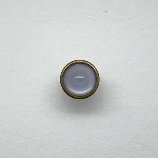 ヴィンテージガラスボタン(クリア)