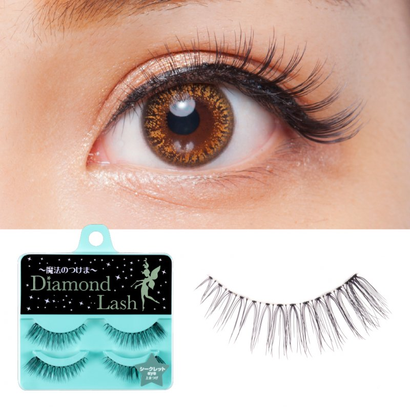 \2ペア新発売!12月4日販売開始/【ダイヤモンドラッシュ公式】 DiamondLash Little Wink Series 【シークレットeye】自まつげに馴染む自然で大人な瞳に!