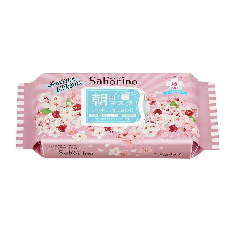 サボリーノ目ざまシート 桜の香り
