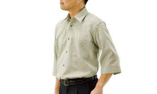 サマーウールシャツ7分袖