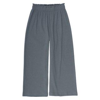 Alfa rib waist pants