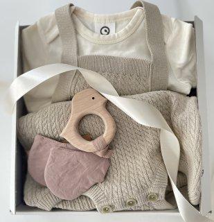 【オンラインショップ限定★送料無料】New Baby Swaddle Gift Set(モスグリーン)