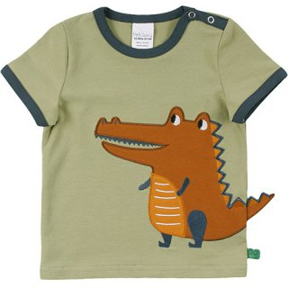 <img class='new_mark_img1' src='https://img.shop-pro.jp/img/new/icons21.gif' style='border:none;display:inline;margin:0px;padding:0px;width:auto;' />【20%OFF】Hello crocodile short sleeve T baby
