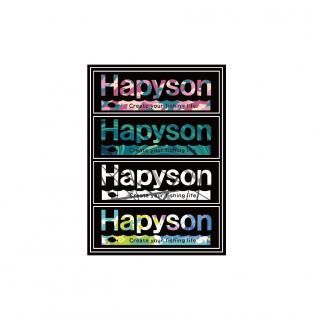 Hapyson ステッカーA