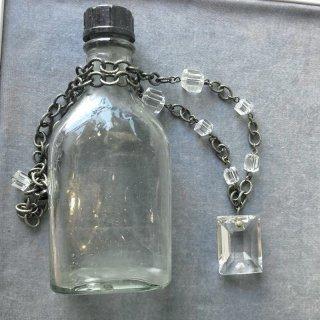 ネックレス 1粒+ミニガラス