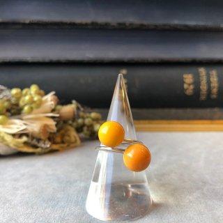 2 Pompoms ライトオレンジ