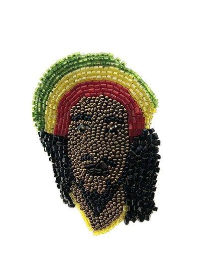 Bob Marley ブローチ