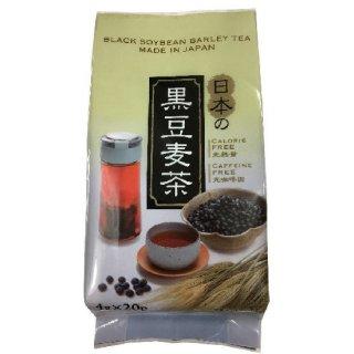 日本の黒豆入り麦茶20P