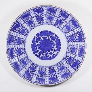 古伊万里 『染付大皿』  銘 直径約50cm 古陶磁