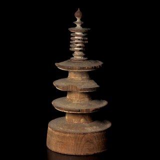 仏教美術 『法隆寺木彫百萬塔』 百万塔 奈良時代 古美術 時代