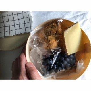 おやつモーニングー今月のおやつとチーズー