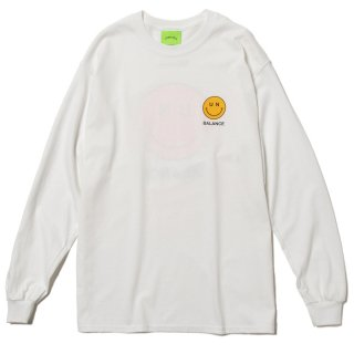 Whatever Smile L/S Tee (White)