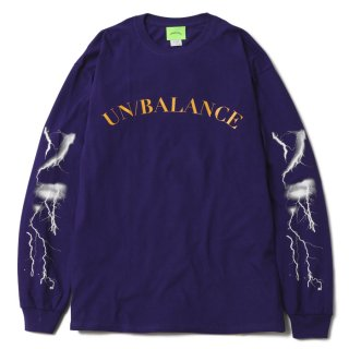 Lightning L/S Tee (Purple)