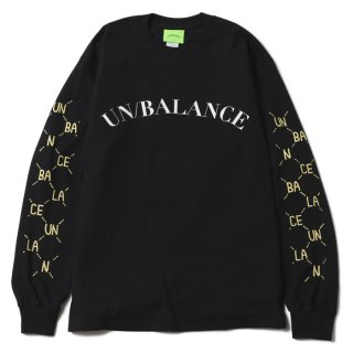 Dotted Line L/S Tee (Black)