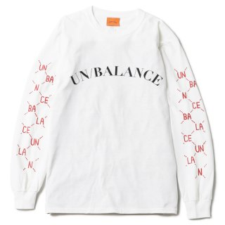 Dotted Line L/S Tee (white)