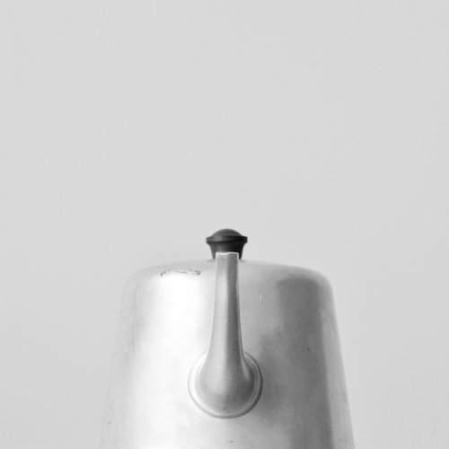 Swan Brand Teapot
