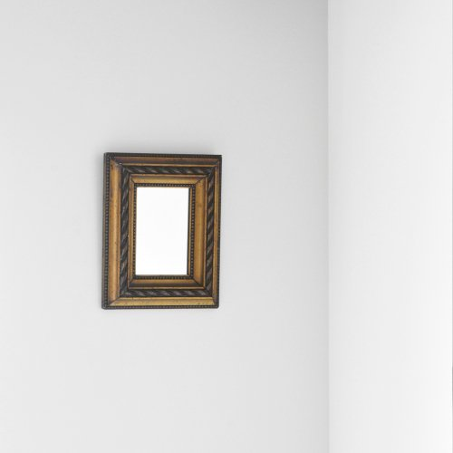 Gold Leaf Frame Mirror