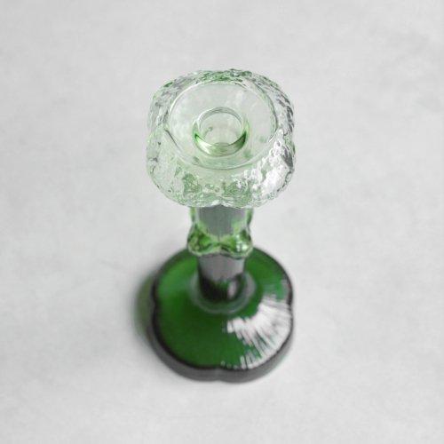 Glass Cauliflower Candlestand