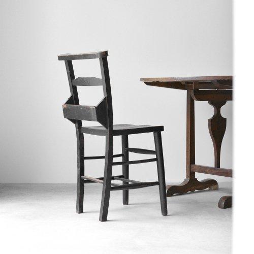 Black Church Chair A