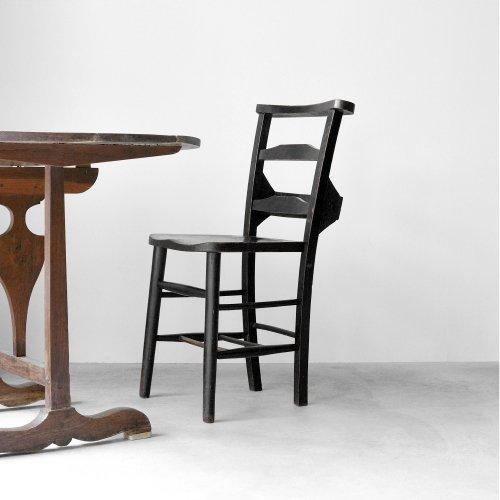 Black Church Chair B