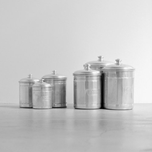 6 Stackable Canisters Set