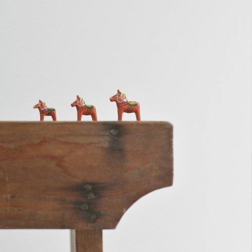Miniature Dalahäst Family