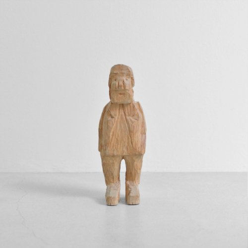 Wood Carving Standing Man