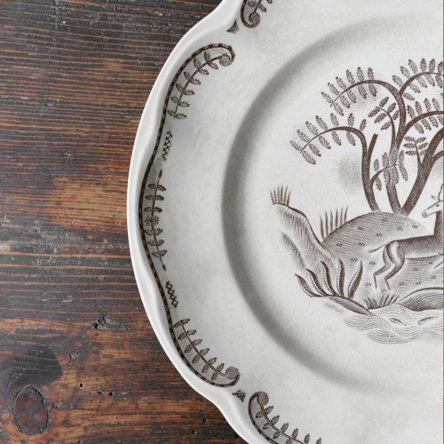 Tibet Deer Dinner Plate