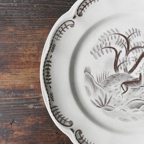 Tibet Deer Dessert Plate