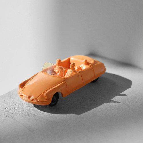 Citroen DS Cabriolet Vinyl Car