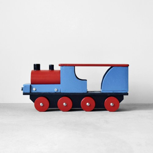 Wooden Locomotive Toy