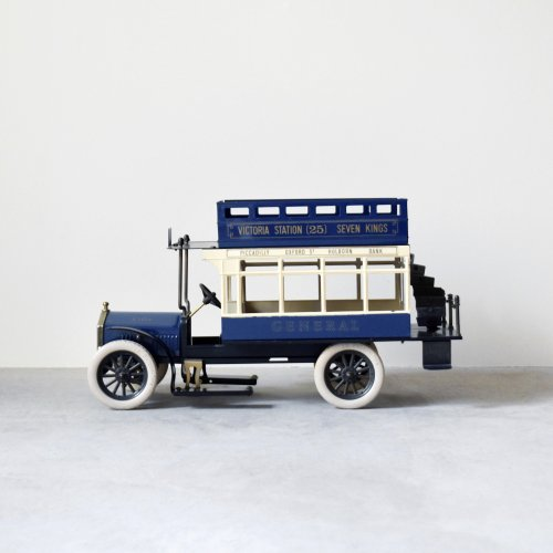 London Double-decker Tin Toy