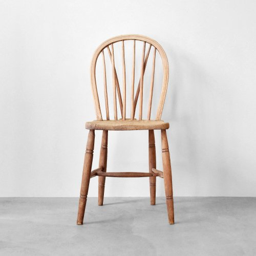 V-bracing Windsor Chair