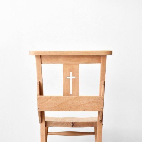 Cross Back Church Chair