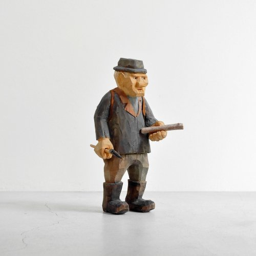 Hatchet Elder Man Figure